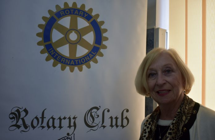 dr. Mary Jane Calvey Rotary Club