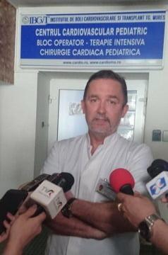 prof. dr. Horațiu Suciu, șeful Clinicii de Chirurgie Cardiovasculară