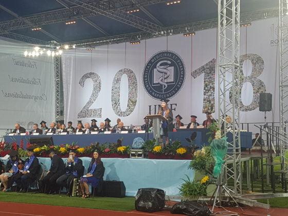 umf cluj-napoca festivitate absolvire