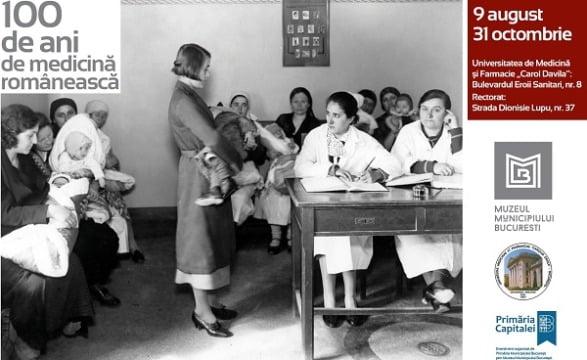 100 de ani de medicină românească