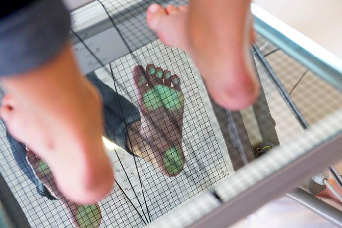examinarea biomecanică a piciorului