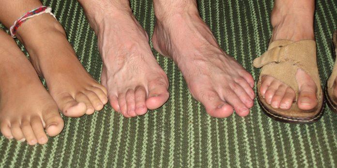 picioare sănătoase