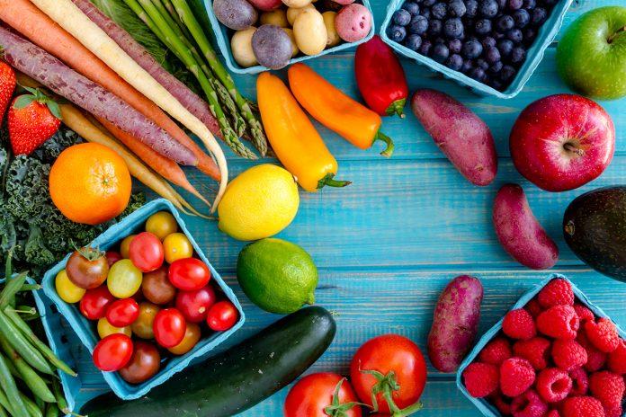 Dieta săracă în fructe şi legume