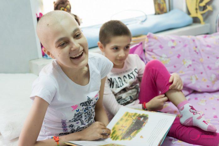 Donează o carte pentru copiii cu cancer!