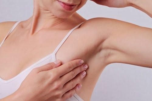 oboseala și ganglionul subaxial