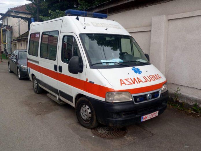 A donat orașului o ambulanță
