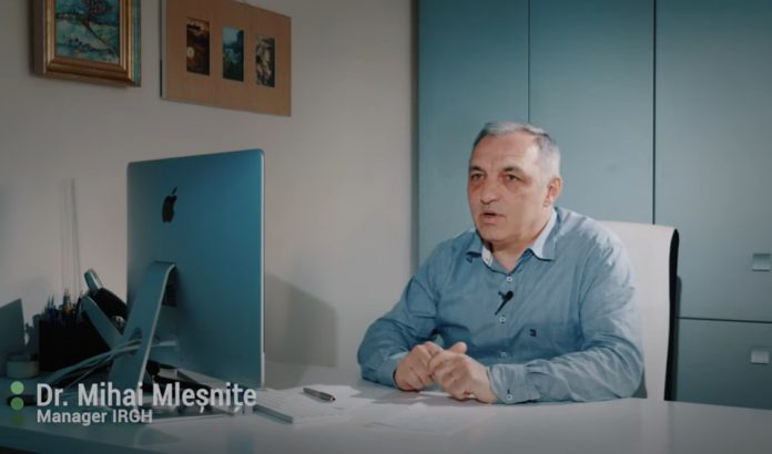 Mihai Mleșnite, managerul IRCH